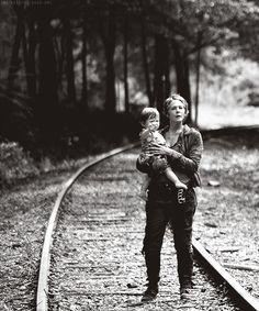 Baby Judith and Carol..