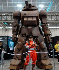 miscforseek:  Twitter / mujinbot: スコープドッグの実物大展示物。これは日本鉄鋼連盟の150周年...