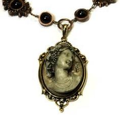 victorian steampunk necklace