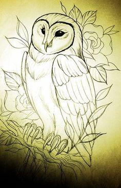 Ideas para tu tattoo: Búho
