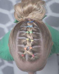 160 Braids Hairstyle Ideas for Little Kids 2019 - Kinder frisuren - Braided Hairstyles Girls Hairdos, Baby Girl Hairstyles, Kids Braided Hairstyles, Box Braids Hairstyles, Hairstyle Ideas, Cute Kids Hairstyles, Little Girl Hairdos, Easy Kid Hairstyles, Pretty Hairstyles
