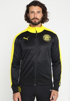 6627c03f5fb9 BVB BORUSSIA DORTMUND TRACK JACKET - Club wear - black   Zalando.co.uk 🛒