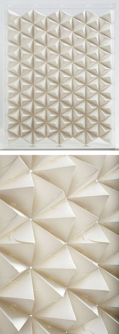 3D Paper Patterns by Benja Harney | Inspiration Grid | Design Inspiration