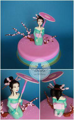 Гейша #тортшрёдингера #торт #cake