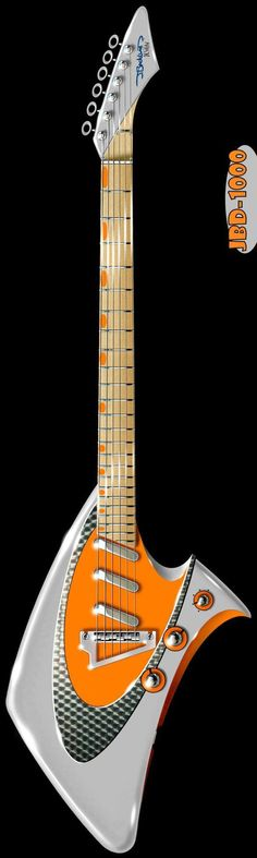 J Buckland 1000  #LardysWishlists #Guitar ~ https://www.pinterest.com/lardyfatboy/ ~ this may just be a design drawing but I hope some have been built