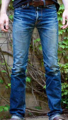 Post with 0 votes and 2218 views. Raw Jeans, Denim Shirt With Jeans, Nudie Jeans, Jeans Style, Blue Jeans, Denim Man, Torn Jeans, Men's Denim, Raw Denim