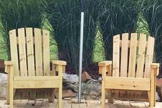 2x4 DIY Adirondack Chair - Perfect For The Patio, Backyard Or Fire Pit!