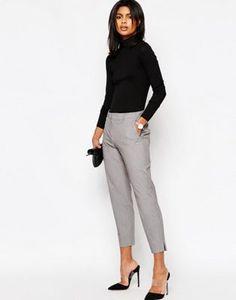 ASOS Slim Leg Crop Pants