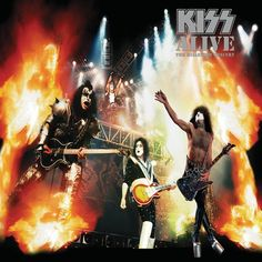 Barnes & Noble® has the best selection of Rock Arena Rock Vinyl LPs. Buy Kiss's album titled Alive: The Millennium Concert [LP] to enjoy in your home or Kiss Album Covers, I Love It Loud, Heavens On Fire, Detroit Rock City, Classic Artwork, Vinyl Collectors, Hot Band, Ace Frehley, Music Albums