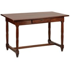 French Cherry Wood Desk   From a unique collection of antique and modern desks and writing tables at https://www.1stdibs.com/furniture/tables/desks-writing-tables/