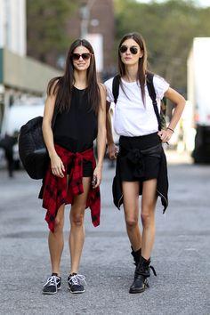 Models at New York Spring 2015