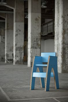 paper chairs by camille de vrede