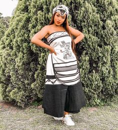 Xhosa Attire, African Design, Everyday Fashion, Traditional, Tops, Dresses, Style Fashion, Women, Southern