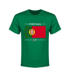 Portugal 2018 FIFA World Cup Russia™ Flag Youth T-Shirt (Green)- 171eaed20