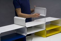 Creative consulting, direction and design. Shelving Design, Modular Shelving, Storage Shelves, Shelf, Office Furniture, Furniture Design, Etagere Cube, Bibliotheque Design, Home Goods Decor