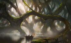 Epic Swamp by jjpeabody.deviantart.com on @deviantART