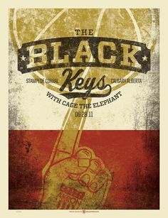 GigPosters.com - Black Keys, The - Cage The Elephant
