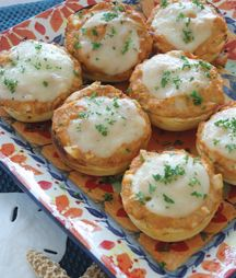 Mini Crab Melts...oh, my!!!!!