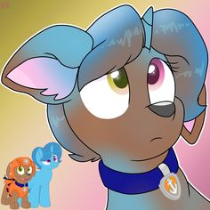 Transgender Transformation Zuma to Spring Rain Zuma Paw Patrol, Transgender Transformation, Mlp, All Art, Rainbow, Humor, Gallery, Spring, Anime