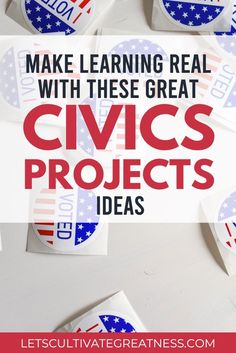 Empower your Civics students by incorporating these five easy, yet authentic PBL project ideas into your class. These are perfect if you want to try project-based learning but aren't sure where to start in your middle or high school classroom!