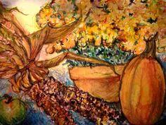 Fall Still Life Mixed Media