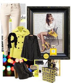 """yellow morning"" by inerufaidah on Polyvore"