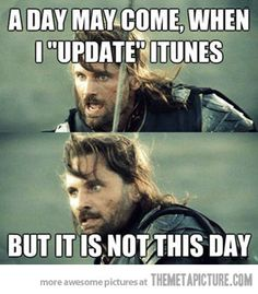 IT IS NOT THIS DAY!!!
