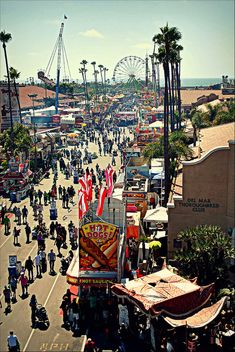 San Diego County (Del Mar) Fair.  Cheapest place to hear great live music in the summer around San Diego.  Most expensive place to buy a beer.  You can't have everything.