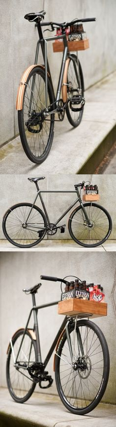 Wooden bike accessories