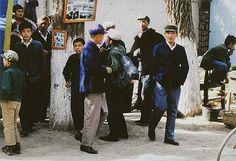 Eliot Porter. Street Scene, Turpan, China, 1981