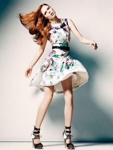 Coco Rocha for The Room.