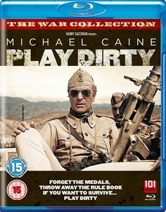 Play Dirty (1968) War Film, Directed by Directed By Andre De Toth, Starring Michael Caine, Nigel Davenport, Nigel Green See our Blu-ray review: https://www.popcorncinemashow.com/2016/10/05/play-dirty-blu-ray-review-1968/