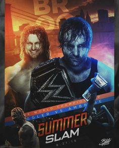 SummerSlam 2016 Dean Ambrose vs Dolph Ziggler WWE World Heavyweight champion