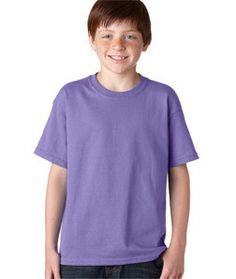 5000B Gildan Heavy Cotton™ Youth T-Shirt Violet