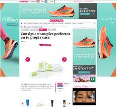 #Cosmopolitan, Abril 2015. #Feet&Roll, #pedicura, #PurPedicur, #pedicure