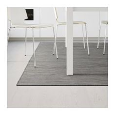 HODDE Rug flatwoven, in/outdoor, gray indoor/outdoor, black - gray/black - IKEA