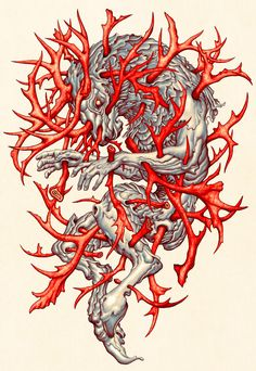 James Jean is an amazing Taiwanese/American visual artist that graduated from New York City's School of Visual Arts back in His critically acclaimed illustration and fine art career has led… School Of Visual Arts, Illustrations And Posters, Illustrators, Cool Art, Illustration Art, Sketches, Silhouette, Decoration, Drawings
