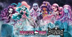 There's more than a ghost of a chance that you'll fall head-over-tombstone for Monster High Haunted! Monster High School, Monster High Dolls, Personajes Monster High, Monster High Characters, Nickelodeon Cartoons, Sci Fi Horror, Disney And More, Custom Dolls, Cartoon Art