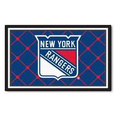 New York Rangers Ultra Plush Area Rug