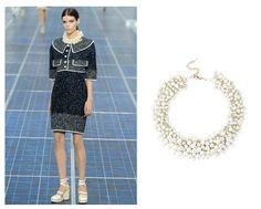 collar Chanel vs Blanco