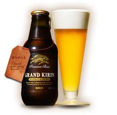 GRAND KIRIN  今、プレゼントキャンペーンをやっているんだけど、  自分に当たるわけじゃなくて、  贈りたい相手に当たるキャンペーン。  さすがキリンさん、上手いなあ。。