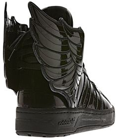 "timeless design afb7d a11aa Jeremy Scott x adidas Originals JS Wings 2.0 ""Black Patent"" Jeremy Scott  Wings,"