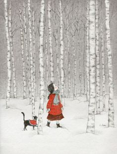 딱 한 번.... 타임머신을 타고 기억 속 어딘가로 갈 수 있다면 그 때, 그 곳에 가고 싶습니다... 하얀 눈이 쌓여있던 그 자작나무 숲.... 얼굴에 은빛으로 부서지던 차갑고 깨끗한 공기.. 온통 신비함으로 둘러싸인 길을 너와 단둘이 고요히 걷던... 그 때 그 자작나무 숲으로 가고 싶습니다......