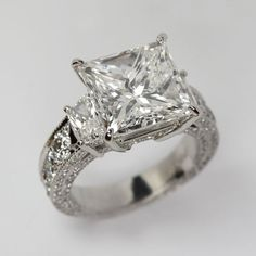 ˚Princess Cut Dimond Ring