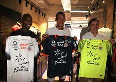 Français club de Ligue 1 Montpellier HSC dévoilé son nouveau maillot de foot Montpellier HSC pour la saison 2016-17.
