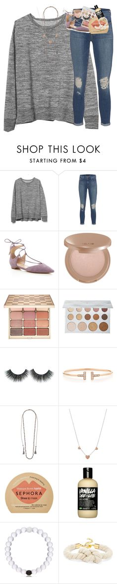 """""""nola this weekend💛💜💚"""" by classynsouthern ❤ liked on Polyvore featuring Gap, J Brand, Ivanka Trump, tarte, Stila, ULTA, Tiffany & Co., Chan Luu, Michael Kors and Sephora Collection"""