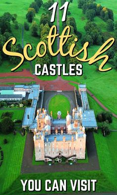 Scotland is full of history, culture and natural beauty. But what about its castles? Here we share 12 castles to visit in Scotland that simply ooze history. English Castles, Scottish Castles, Scotland Vacation, Scotland Travel, Scotland Trip, Surf, Castles To Visit, Prague Travel, Great Days Out