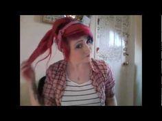 Bandana Pin-Up hair Tutorial.