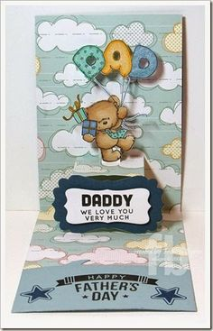 Frances Byrne using the Pop it Ups Lucy Label die by Karen Burniston for Elizabeth Craft Designs - C4C239Dad2-wm