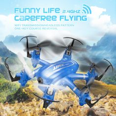 (39.40$)  Watch more here - http://ai05r.worlditems.win/all/product.php?id=32682350126 - NEW ARRIVAL JJRC H20W Mini drone with WIFI HD Camera 2.4G 4CH 6Axis Headless Mode Mini RC Quadcopter RTF VS H30C CX10C H6W H20